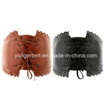 Cinturón más amplio cinturón de encaje de moda