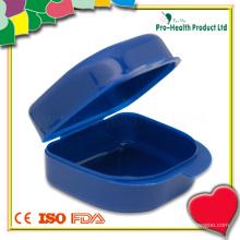 Portable Plastic False Teeth Box