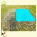 Jaula para conejos de alambre de púas fácil de usar