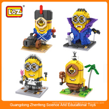 3d puzzles loz construction building block toy for gift