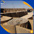 Welded gabion factory and military sand wall hesco barrier
