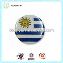 Уругвай флаг значок олова