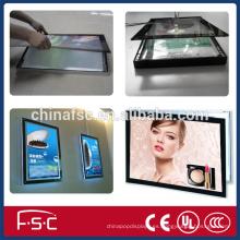 Caja de luz led colgante magnético caja ligera de acrílico marco imagen