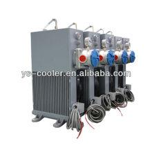 12v / 24v refrigerador de óleo DC com ventilador para bomba de concreto