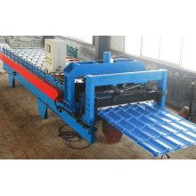 Máquina formadora de rolos de telha vitrificada de aço galvanizado de alta qualidade