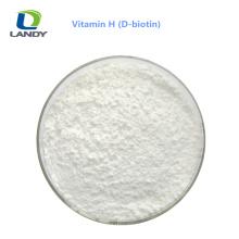 Изготовление Китая Надежное Качество Медицинской Ранга Витамин H D-Биотин