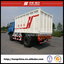 Camión de basura, contenedor de eliminación de basura