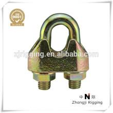 Clips de câble métallique malléable DIN 1142
