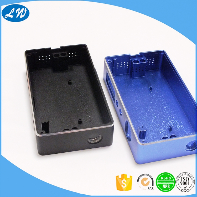 cnc aluminum parts for electronic cigarette case