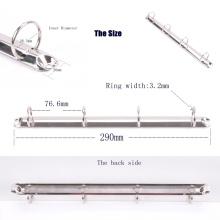 Plastic 4 Rings Binder Parts, Iron 4 Ring Binder Clip