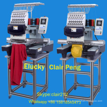 Elucky computer embroidery machine price for tajima DST DSB embroidery