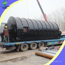 400 Квадратных Метров Покрытия Пластиковые Завод По Переработке Шин Пиролиз