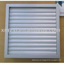 Tiro aire Register (registro de ventilador, registro de aire de aluminio)