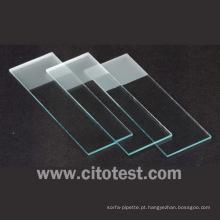 Lâminas de microscópio fosco único (0307-2103)