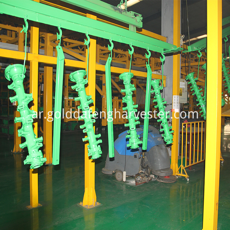 disc plough painting line of products