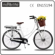 MOTORLIFE/OEM номер одобренный en15194 2017 конкурентоспособная цена велосипед города e, дамы электровелосипедов.