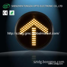 200mm LED Yellow Arrow Traffic Light