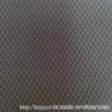 Ткань с подкладкой из полиэфирной вискозной ткани с добби