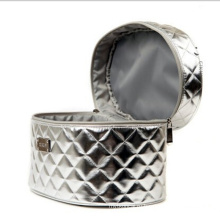 Женщины серебристый мода косметическая сумочка (НХ-q074)