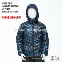 Hangzhou Shaoxing ville usine bébé garçon veste d'hiver 2017 style populaire