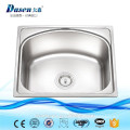 Small size India series hot sale stainless steel 304 single bowl kitchen basin on sale