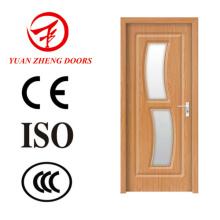 PU PVC MDF Puerta de la habitación Puerta de madera Fotos