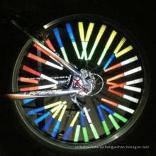 Bicycle Wheel Spoke Reflector /Reflective Mount Clip Tube Warning Strip OEM PACKING !!!