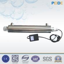 Système de traitement de l'eau de désinfection UV pour l'équipement de réutilisation de l'eau