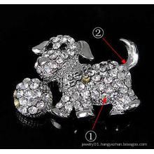 Gets.com zinc alloy rhinestone dragonfly brooch
