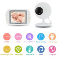 New+3.5+Inch+Video+Audio+Baby+Monitor