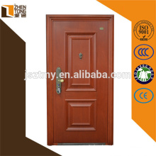 2015 new design galvanized security steel door with cheap price