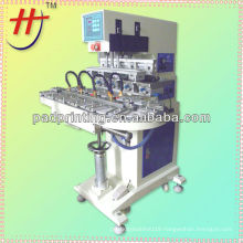 HP-160DZ pneumatic 4 color pad printing machine for golf ball