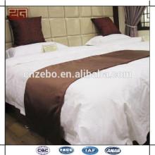 Bufanda de cama de alta calidad del hotel, corredor de la cama, sistema de la ropa de cama