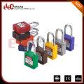 Elecpopular China Online Verkauf Bunte Red Keyed Alike PA Kunststoff Sicherheit Vorhängeschloss