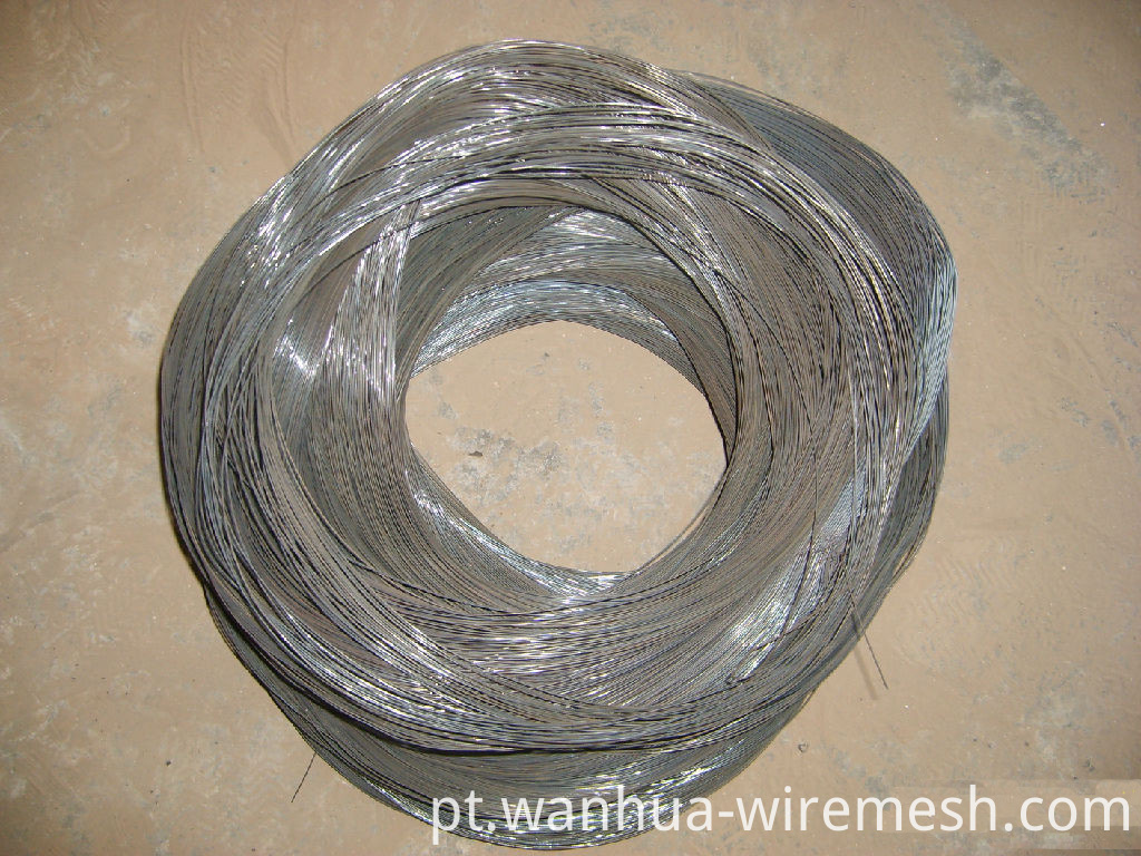 low carbon binding wire twisted black annealed tie wire