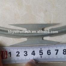 alambre de la maquinilla de afeitar de seguridad alambre de púas galvanizado alambre de púas de la maquinilla de afeitar