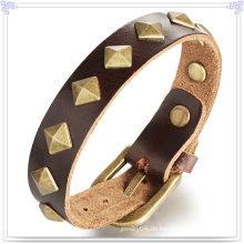 Modeschmuck Leder Schmuck Leder Armband (LB169)