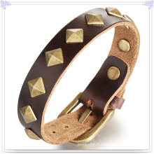 Bijoux fantaisie Bijoux en cuir Bracelet en cuir (LB169)