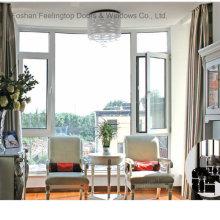 Fenêtre à battants en aluminium à coupure thermique (FT-W70)
