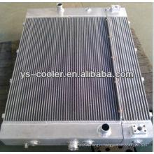 aluminum plate fin cooler ,combine oil-water heat exchanger