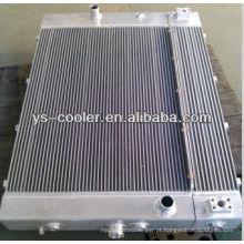 Refrigerador da aleta da placa de alumínio, trocador de calor da óleo-água da liga