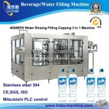 4000bph Water Bottling Filling Capping Machine