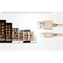 Snelle Mobiele Telefoon USB Lader Data Kabel voor iPhone iPad Air iPod