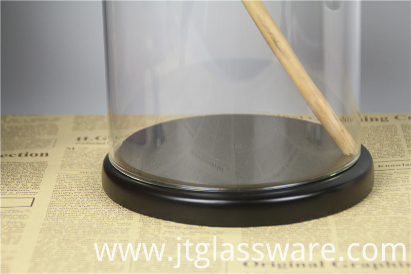 glass dome D15 x H30cm