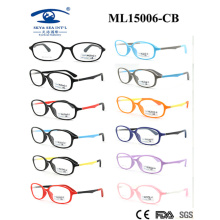 Colourful Beautiful Light Material 2015 Eyewear Frame for Kids (ML15006)
