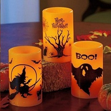 Halloween decoration LED candle