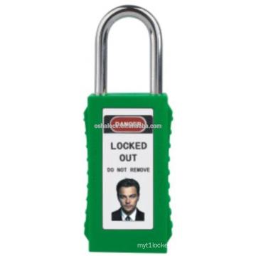 Long Body Safety Padlock BOSHI BD-G84 ,Corrosion-resistant lockout tagout