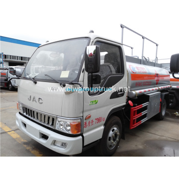 JAC 4x2 LHD Oil Tank Truck For Sale