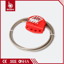 Adjustable Cable Lockout with 1.8 Meter Stainless Steel Cable
