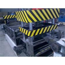 Máquina de formação de rolo de perfil de Sigma de aço galvanizado para a Arábia Saudita